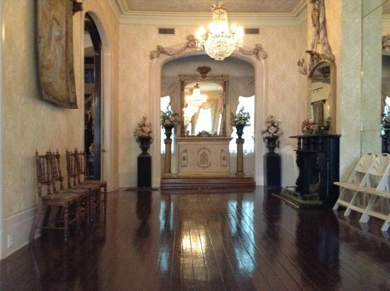 House of Broel's Victorian Mansion and Doll House Museum: The ballroom and room where the marriage ceremonies happen.