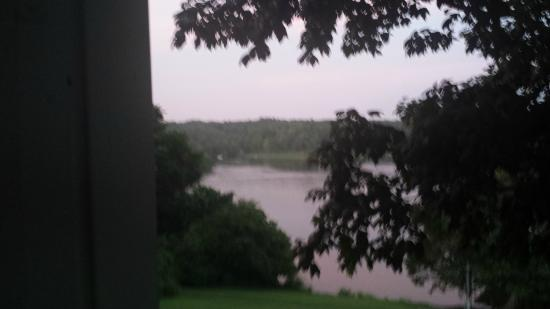 Maple Hill Bed and Breakfast : View of Lake Barkley from private porch