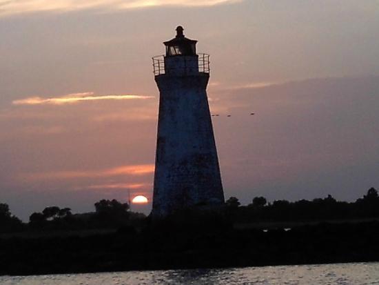 Captain Derek's Dolphin Adventure: lighthouse