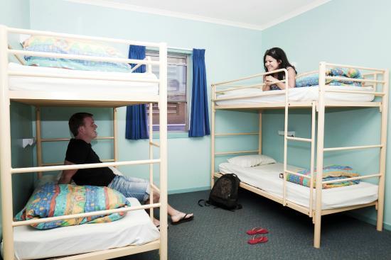 Coffs Harbour YHA: Dorm room