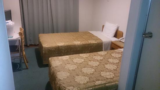 Hotel Yamadaso: ベッド