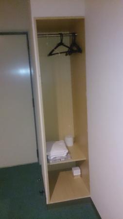 Hotel Yamadaso: ミニクローゼット