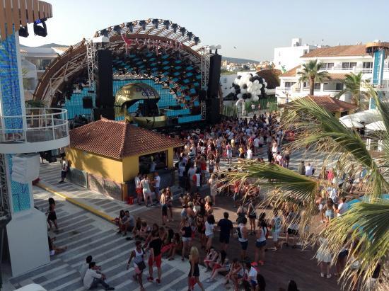 Ushuaïa Ibiza Beach Hotel: The view from room 2203