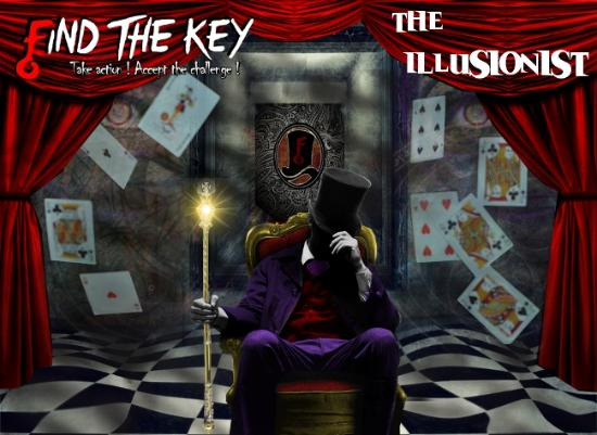 The Illusionist Scenario - Picture of Find The Key, Montreal ...