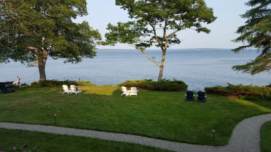 Lincolnville, ME: Ocean View from our room