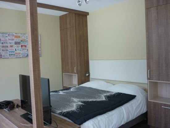 Hotel De Zeeuwse Stromen: comfortable bed