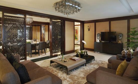 President Suite Living Room - Picture of Gran Melia Jakarta ...