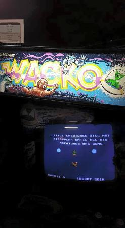 Galloping Ghost: Wacko game
