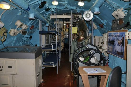 знакомство с подводной лодкой