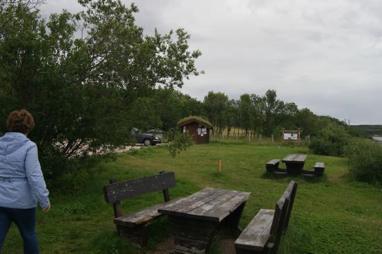 Tana Municipality, Norway: Место у реки для отдыха и рыбалки