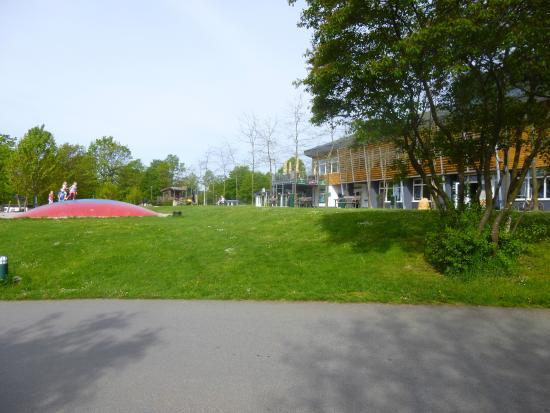 Kell am See, Alemania: receptie en deel springkussen