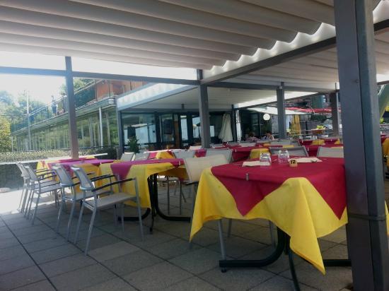 La terrazza panoramica. - Picture of Funivie del Lago Maggiore ...