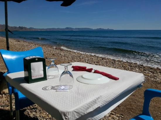 Parque Regional Cabo Cope y Puntas de Calnegre: Ready for lunch?