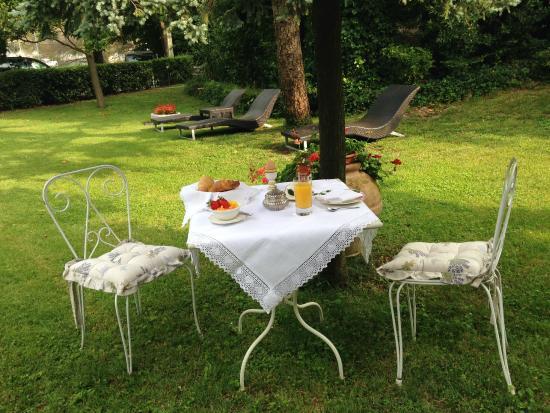 Hotel Villa Gruber: una colazione molto romantica!