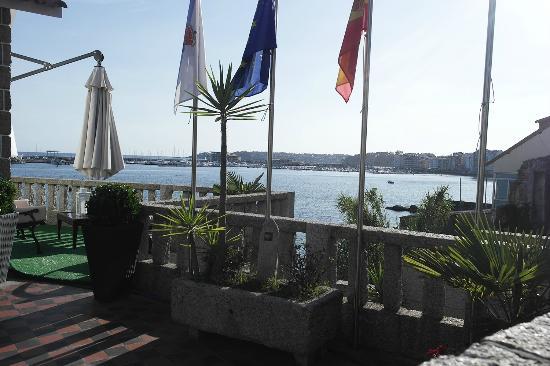 Principe Hostal: Terraza hotel