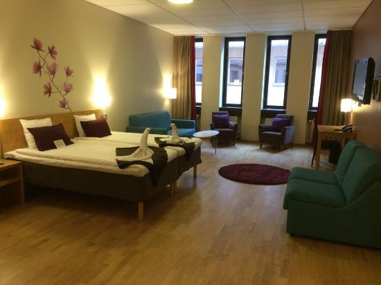 Scandic Malmo City : Had the best time in this wonderful hotel! The room was amazing, and so fresh and cozy! Perfect