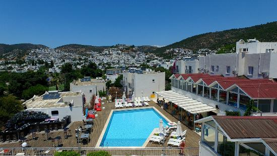 Bodrum Eos Hotel : Birds eye view