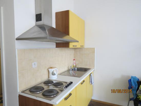 Residence V Tunich 14: Мини-кухня