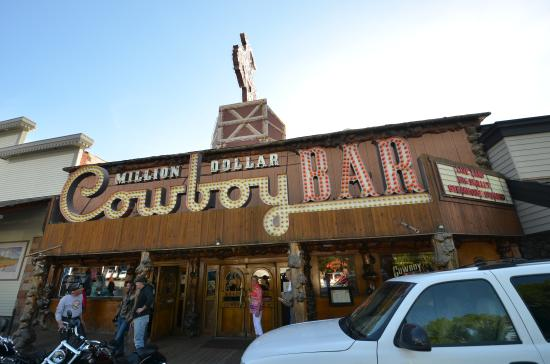 Million Dollar Cowboy Steakhouse: La devanture