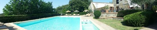 Roccastrada, Italia: piscina