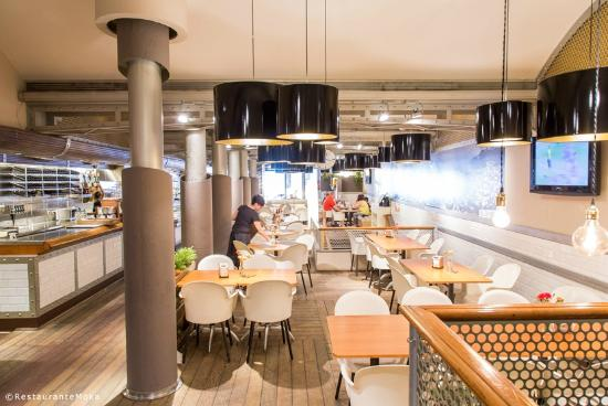 Moka Restaurant Cafeteria : Sala Principal
