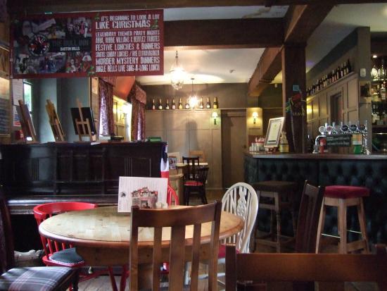 The Bull Inn : The bar area