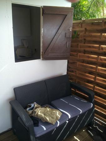 An Eol Caraïbes : salon extérieur