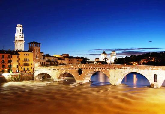Al Quadrifoglio Bed and Breakfast in Verona: Verona - Ponte Pietra