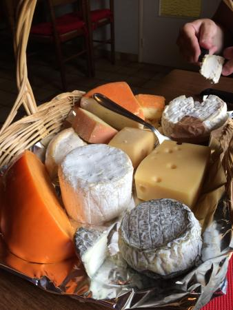 Celon, Fransa: Fromages