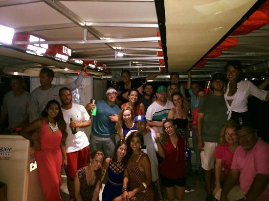 Galveston Water Adventures: Evening cruise fun
