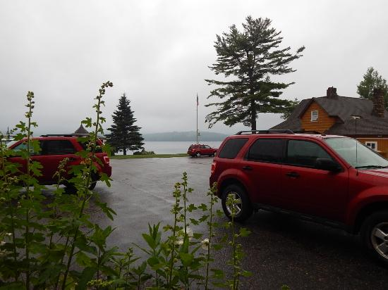 Lake Pleasant Lodge: View from the lodge