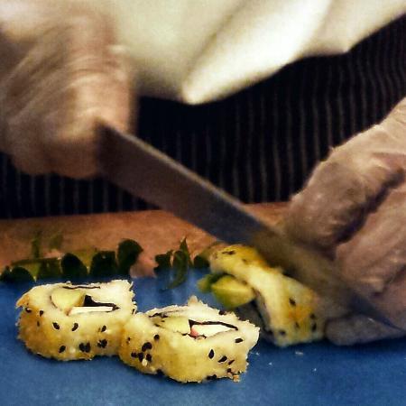 Sushi at Baharat Restaurant