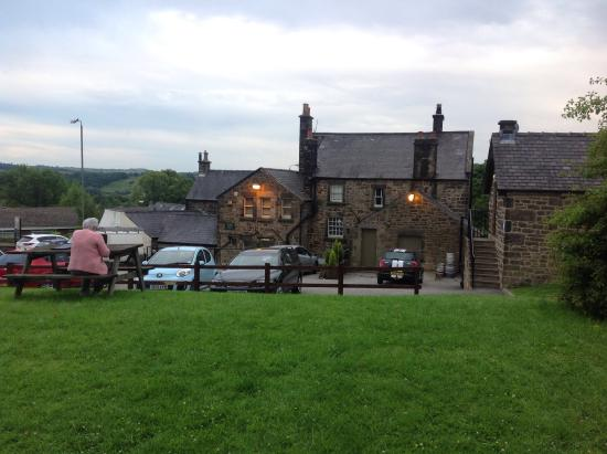 The Duke of Wellington Country Inn: The Duke at twilight