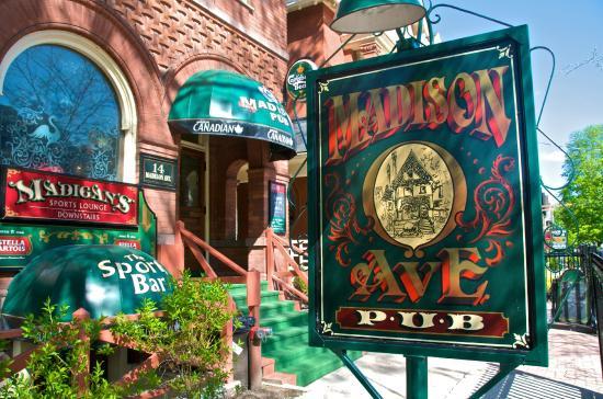 Photo of Bar Madison Avenue Pub at 14 Madison Ave, Toronto M5R 2S1, Canada