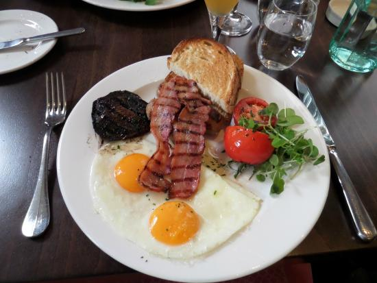 full english breakfast - picture of the strand dining rooms