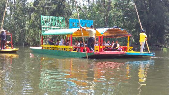 Foto De Trajineras Ciudad De M Xico Floating Gardens Of Xochimilco Tripadvisor