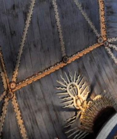 Iglesia Santa Maria de Loreto : Particolare del soffitto