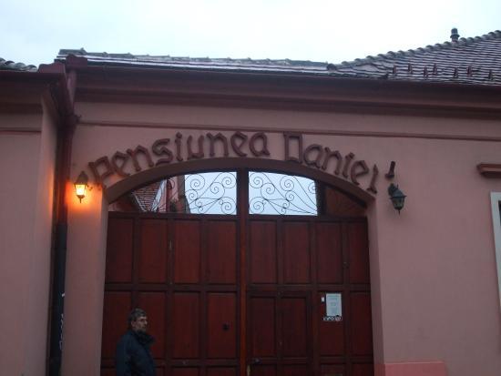 Pension Daniel: Enter by these gates