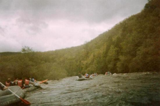 Jim Thorpe River Adventures: Rafting on a Cloudy Day