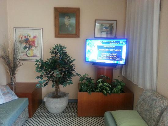 Vigo di Cadore, Italie : Sala relax..