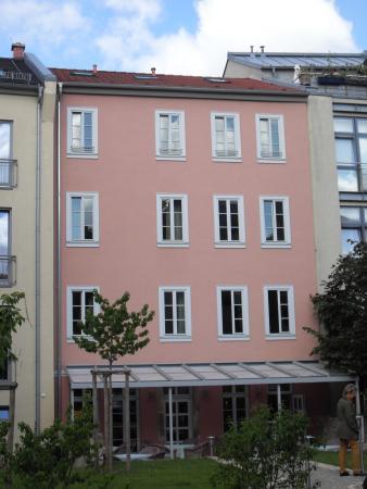 Hotel Pension am Goethehaus: Hoel/Pension Rückseite