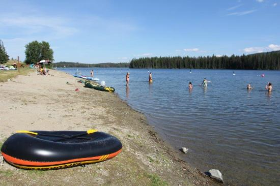 Lac le Jeune: The Beach