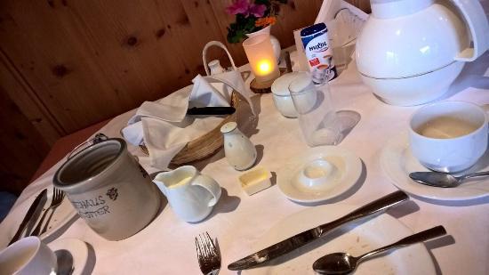 Gästehaus Stotter: Ontbijt was heerlijk
