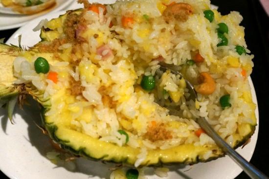 Bellagio Cafe (GongTi) : The Pineapple Rice