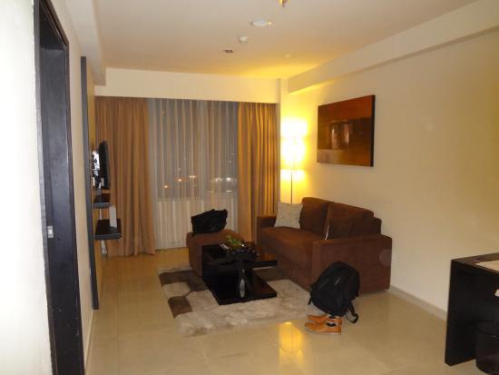 Aston Denpasar Hotel And Convention Center Tersedia Ruang Tamu Di R
