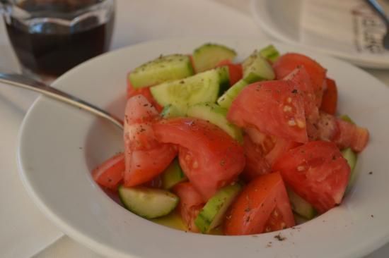 El Greco Restaurant Cafe: Салат