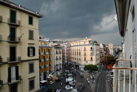 Art Suite Principe Umberto B&B: вид из балкона