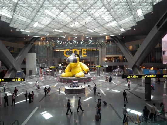 Resultado de imagen de doha aeropuerto