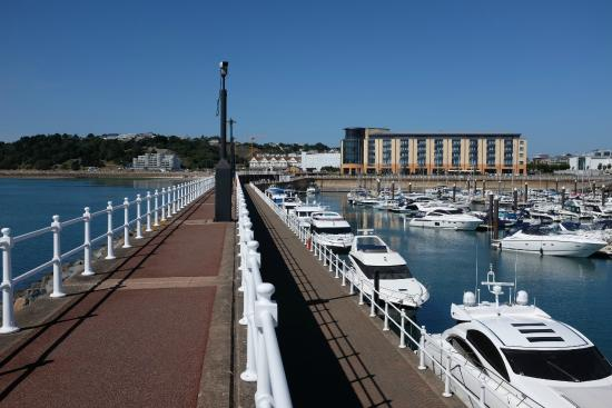 Marina from room 325 - Picture of Radisson Blu Waterfront Hotel, Jersey, St. Helier - TripAdvisor