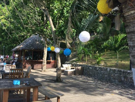 Sabang, Indonesia: Restaurant di tepi pantai